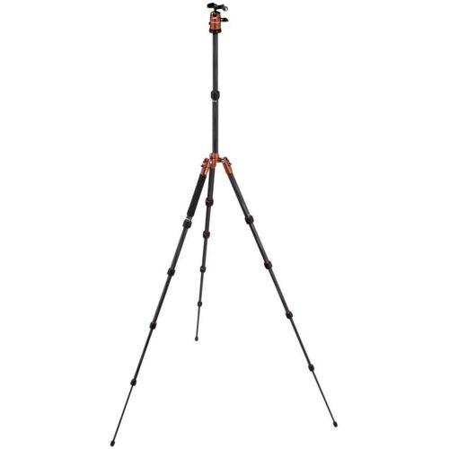 Rollei »Fotopro Compact Traveller No.1 Carbon orange« Stativhalterung