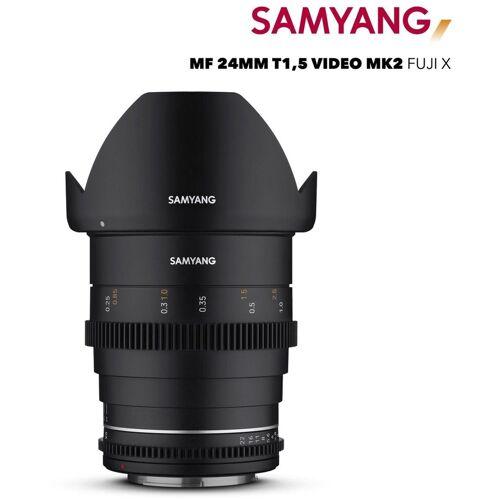 Samyang »MF 24mm T1,5 VDSLR MK2 Fuji X« Objektiv