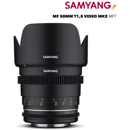 Samyang »MF 50mm T1,5 VDSLR MK2 MFT« Objektiv