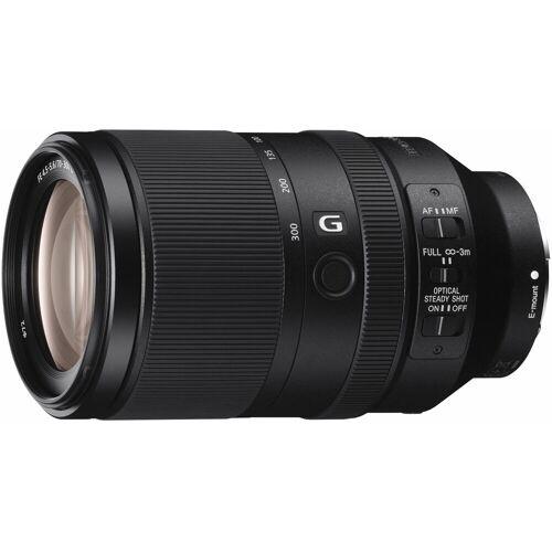Sony »SEL-70300G E-Mount Telezoom« Objektiv, (E 70-300mm F4.5-5.6, OSS, APS-C)