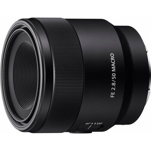 Sony »SEL-50M28 E-Mount Vollformat« Objektiv, (E 50mm F2.8, APS-C)