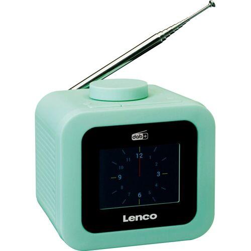 Lenco »CR-620« Radiowecker (Digitalradio (DAB), FM-Tuner, 2 W), grün