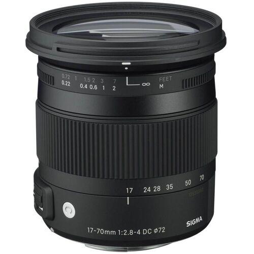 Sigma »17-70mm 1:2,8-4 Macro OS HSM (C) Nikon« Objektiv