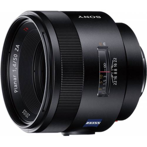 Sony Objektiv »A-Mount-Objektiv 50 mm, F1.4 Z, SAL50F14Z«, Schwarz