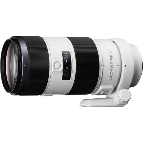 Sony Objektiv »Vollformat-Zoomobjektiv 70-200 mm F2.8«, Weiß-Schwarz
