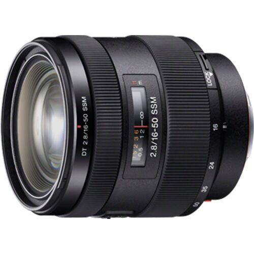Sony Objektiv »SAL1650 16-50 mm F2,8 SSM Zoomobjektiv«, Schwarz
