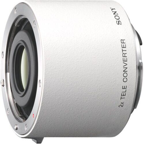 Sony Objektiv »20TC A-Objektiv für Digitalkameras«, Weiß