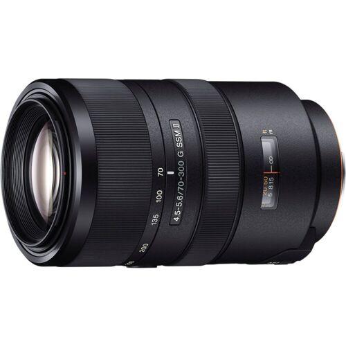 Sony Objektiv »Vollformat-Zoomobjektiv 70-300 mm F4.5«, Schwarz