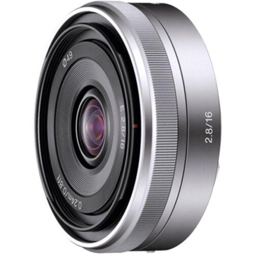 Sony Objektiv »16mm F2.8 E-Mount APS-C«, Silber
