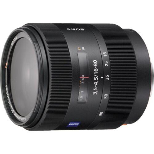 Sony Objektiv »Zoomobjektiv 16-80 mm F3.5-4.5«, Schwarz