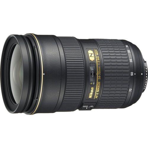 Nikon »AF-S NIKKOR 24-70 mm 1:2.8G ED« Objektiv, (HB-40 und CL-M3)