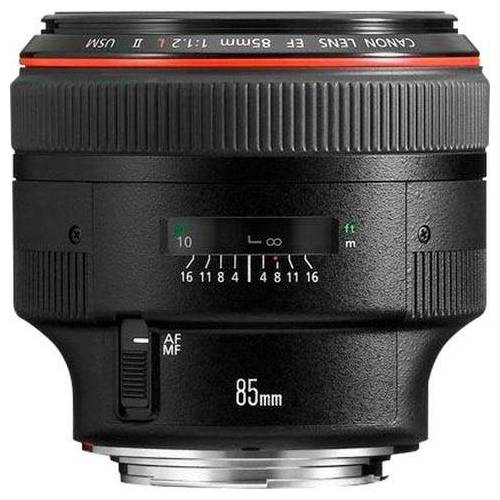 Canon »EF 85mm f1.2L II USM« Teleobjektiv