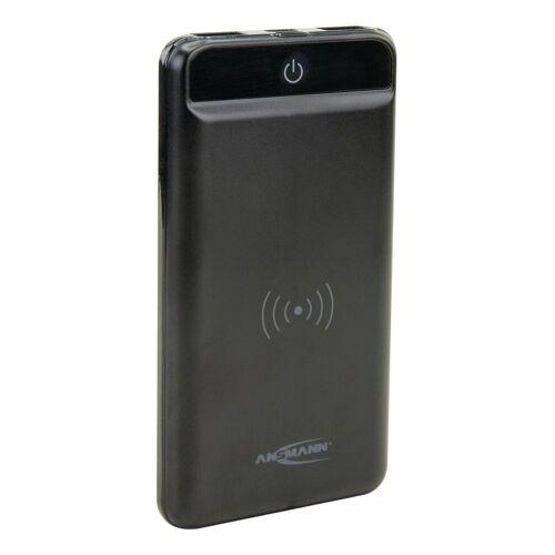 Ansmann »Wireless Powerbank 8000mAh - Qi-Laden mit 5W - mit LED-Taschenlampe« Powerbank 8000 mAh (3.7 V)