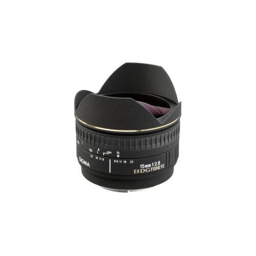 Sigma »15mm 1:2,8 EX DG Nikon AF« Objektiv