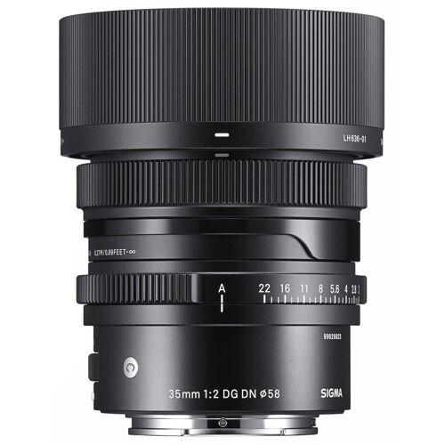 Sigma »35mm f2,0 DG DN (C) für Sony-E« Objektiv