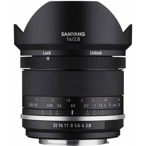 Samyang »MF 14mm F2,8 MK2 Fuji X« Objektiv