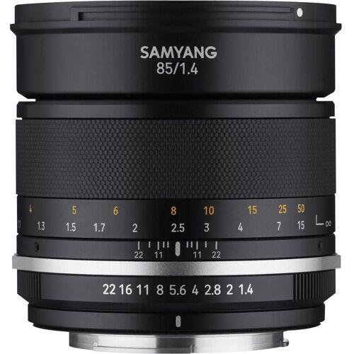 Samyang »MF 85mm F1,4 MK2 Fuji X« Objektiv