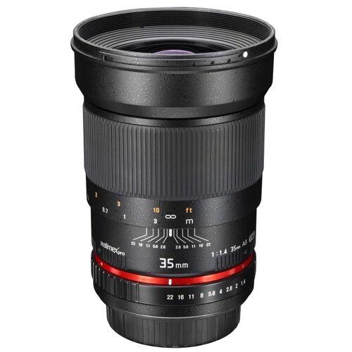 walimex »pro 35mm F1,4 Nikon F AE« Objektiv