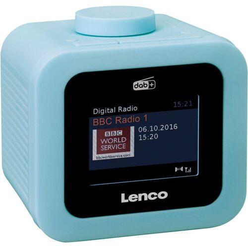 Lenco »CR-620« Radiowecker (Digitalradio (DAB), FM-Tuner, 2 W), blau