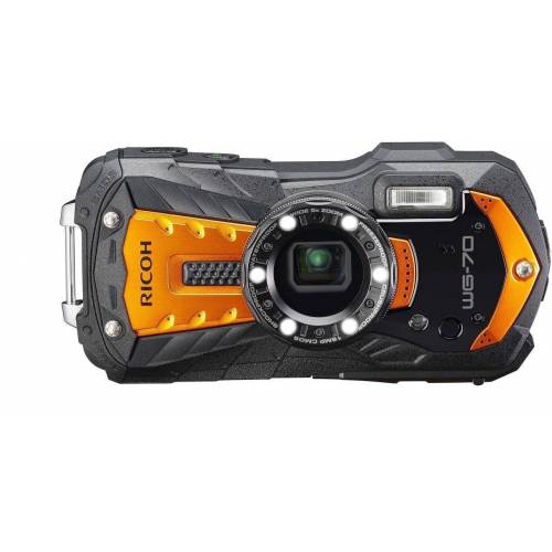 Ricoh »WG-70 orange« Outdoor-Kamera