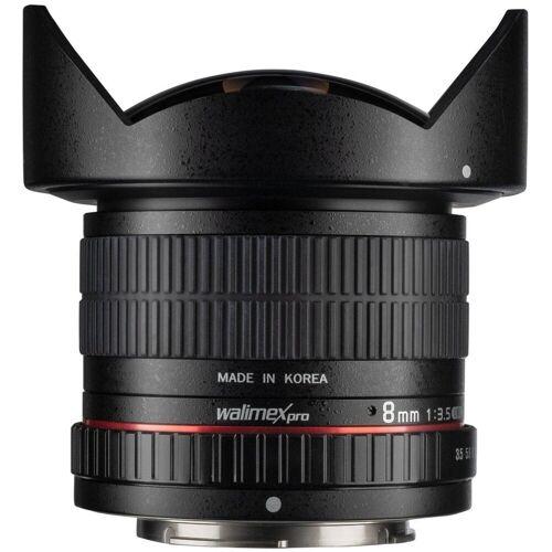 walimex »pro 8mm F3,5 Fisheye II APS-C Sony A« Objektiv