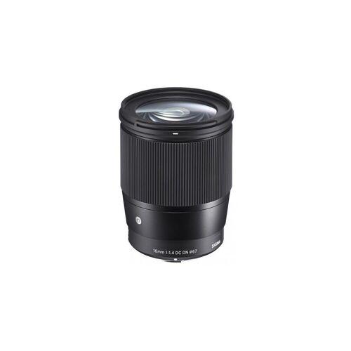 Sigma »16 mm f1,4 DC DN [C] für Sony E-Mount« Objektiv