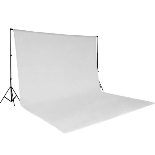 tectake Fotohintergrund »Fotohintergrund Komplettset«, weiß