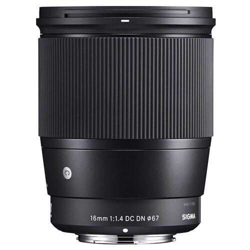 Sigma »16mm 1.4 DC DN Canon EF-M« Objektiv