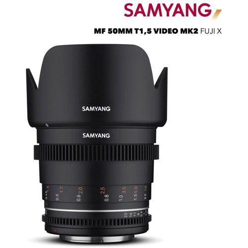 Samyang »MF 50mm T1,5 VDSLR MK2 Fuji X« Objektiv