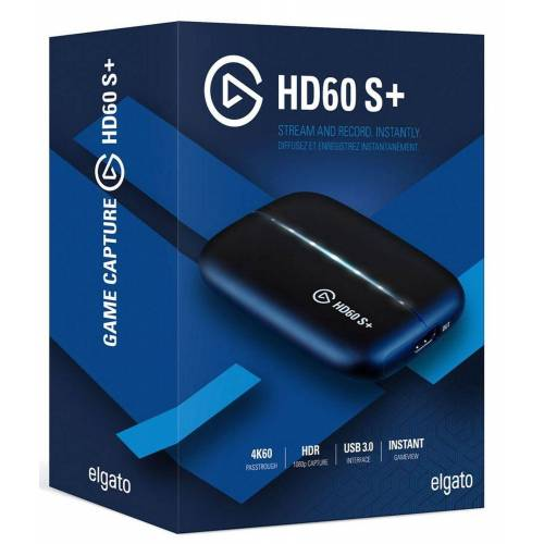 Elgato »Game Capture HD60 S+ Rekorder« Digitales Aufnahmegerät