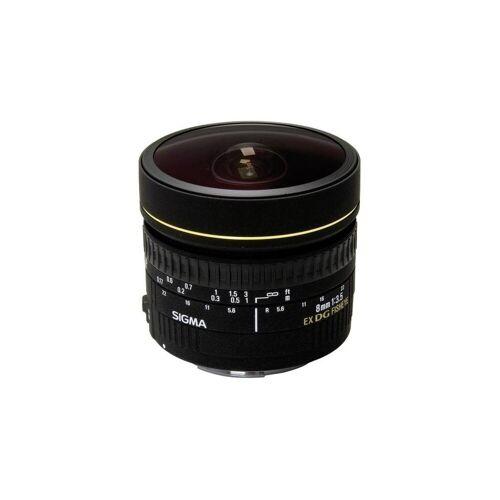 Sigma »8mm 1:3,5 EX DG Fisheye Canon AF« Objektiv