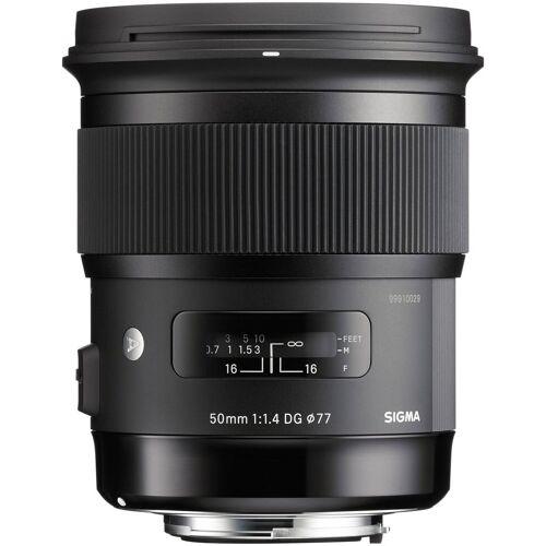 Sigma »50mm 1:1,4 DG HSM [A] Nikon AF« Objektiv