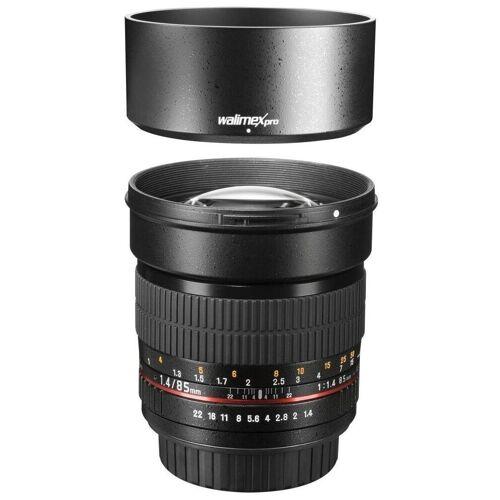 walimex »pro 85mm F1,4 CSC Sony E« Objektiv