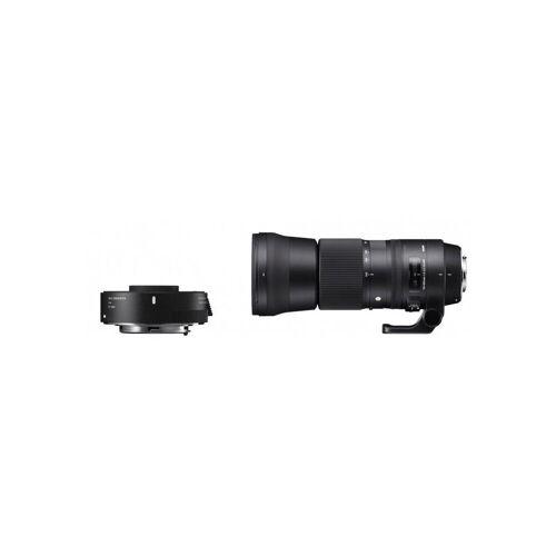 Sigma »150-600mm f5,0-6,3 OS HSM C + Konverter TC1401 für« Objektiv