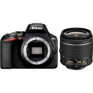 Nikon »D3500 + AF-P DX 18–55 VR« Spiegelreflexkamera (AF-P DX NIKKOR 18–55 mm 1:3,5–5,6 G VR, 24,2 MP, Bluetooth)