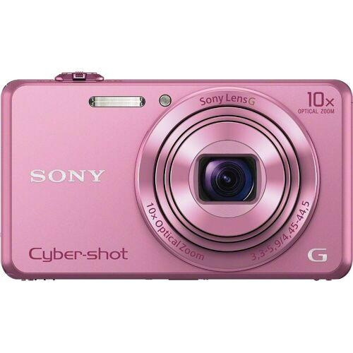 Sony »Cyber-Shot DSC-WX220« Superzoom-Kamera (25mm G, 18,2 MP, 10x opt. Zoom, WLAN (Wi-Fi), 10 fach optischer Zoom), rosa