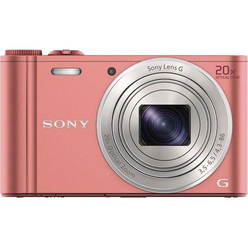 Sony »Cyber-Shot DSC-WX350« Superzoom-Kamera (25mm G, 18,2 MP, 20x opt. Zoom, WLAN (Wi-Fi), 20 fach optischer Zoom), pink