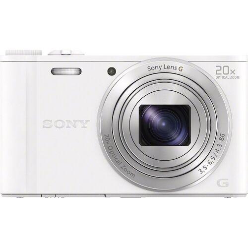 Sony »Cyber-Shot DSC-WX350« Superzoom-Kamera (25mm G, 18,2 MP, 20x opt. Zoom, WLAN (Wi-Fi), 20 fach optischer Zoom), weiß