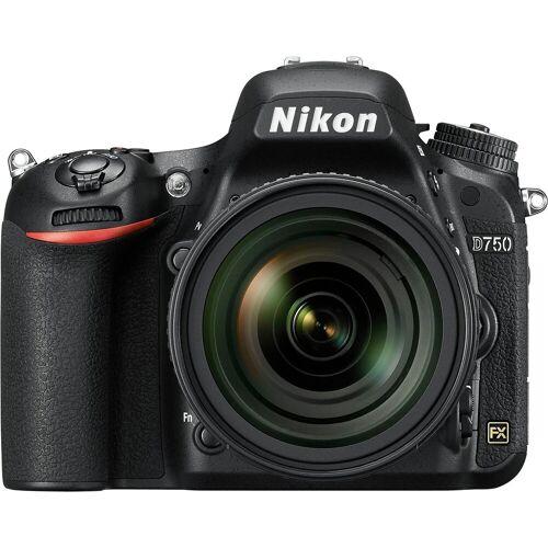 Nikon »D750« Spiegelreflexkamera (AF-S Nikkor, 24,3 MP, WLAN (Wi-Fi)
