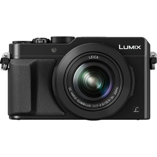 Panasonic Lumix Panasonic »DMC-LX100EG« Kompaktkamera (Leica DC Vario-Summilux, 12,8 MP, 3x opt. Zoom, WLAN (Wi-Fi), NFC, 4,3 fach optischer Zoom), schwarz