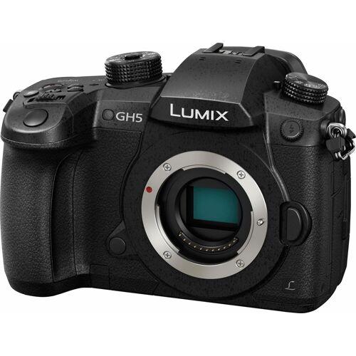 Panasonic Lumix Panasonic »DM-GH5EG-K« Systemkamera-Body (20 MP, 20-MP-Sensor ohne Tiefpassfilter)