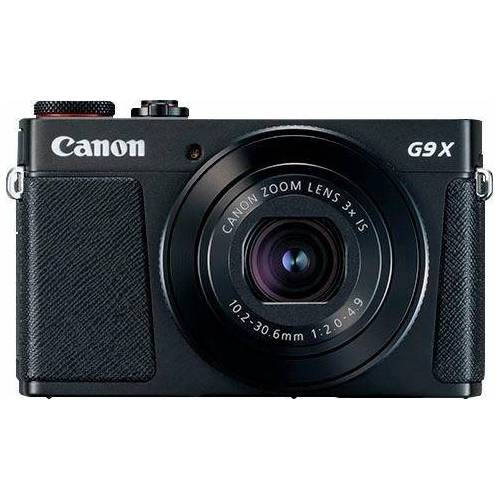Canon »PowerShot G9 X Mark II« Bridge-Kamera (20,1 MP, 3x opt. Zoom, WLAN (Wi-Fi), NFC), schwarz