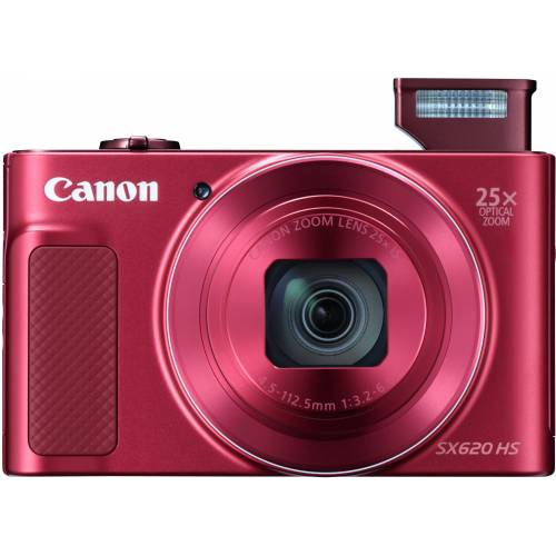 Canon »Power-Shot SX620 HS« Superzoom-Kamera (20,2 MP, 25x opt. Zoom, WLAN (Wi-Fi), NFC), rot