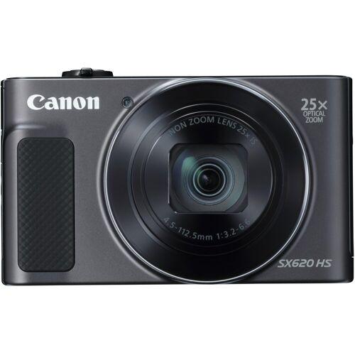 Canon »Power-Shot SX620 HS« Superzoom-Kamera (20,2 MP, 25x opt. Zoom, WLAN (Wi-Fi), NFC), schwarz