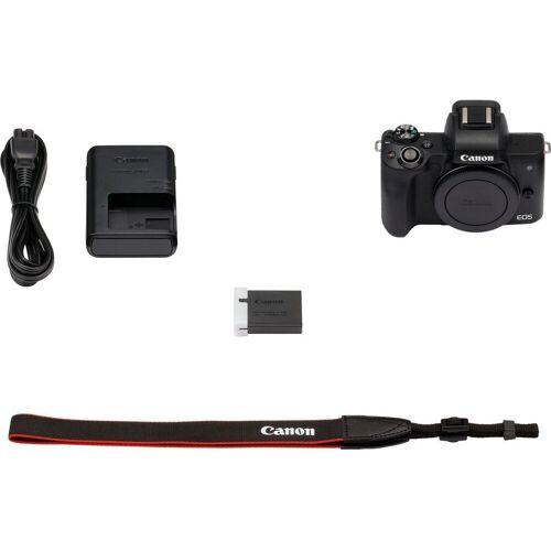 Canon »EOS-M50 Body« Systemkamera-Body (24,1 MP, NFC, WLAN (Wi-Fi), Bluetooth), schwarz