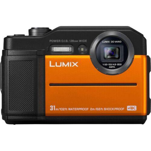 Panasonic Lumix Panasonic »Lumix DC-FT7« Outdoor-Kamera (4K Ultra HD, WLAN (Wi-Fi), 4,6x opt. Zoom), orange