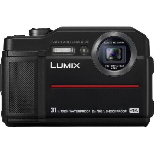 Panasonic Lumix Panasonic »Lumix DC-FT7« Outdoor-Kamera (4K Ultra HD, WLAN (Wi-Fi), 4,6x opt. Zoom), schwarz