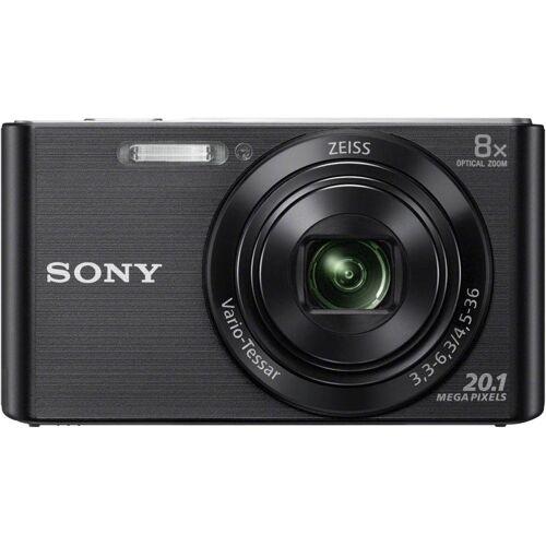 Sony »DSC-W830« Kompaktkamera (ZEISS Vario-Tessar, 20,1 MP, 8x opt. Zoom), Schwarz