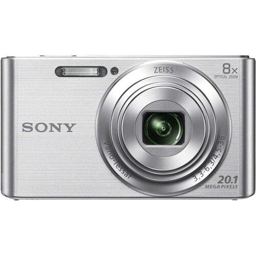 Sony »DSC-W830« Kompaktkamera (ZEISS Vario-Tessar, 20,1 MP, 8x opt. Zoom), Silber