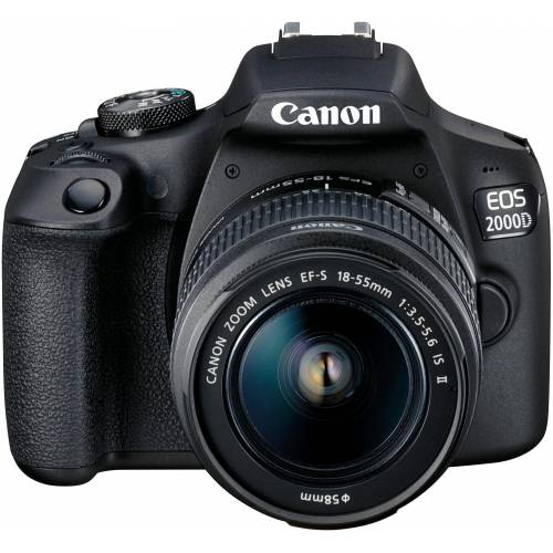 Canon »EOS 2000D EF-S 18-55 IS II Value Up Kit« Spiegelreflexkamera (EF-S 18-55 IS II, 24,1 MP, NFC, WLAN (Wi-Fi)